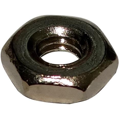 M5 5mm acier zingué écrou frein NYLSTOP clé de 8