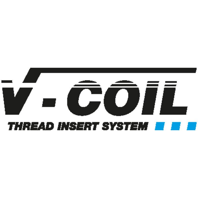 Völkel Gewindeeinsatz-Standard M3 x 0,5 1D V-Coil