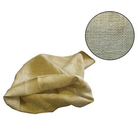 (100x) Yuzet 50kg Hessian Potato Sack Vegetable Coffee Bags Storage Traditional Jute