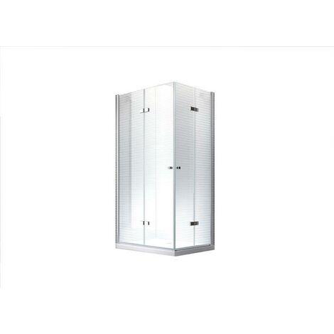 100x90x195cm Cabine de douche Hera - sans bac de douche