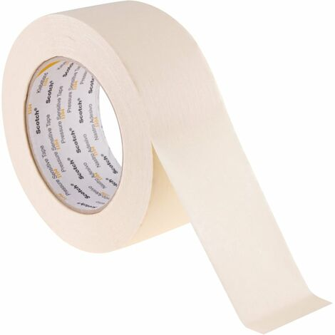 104 Low Tack Cream Masking Tapes