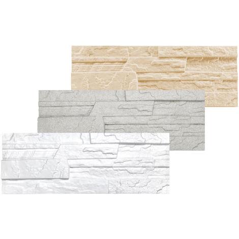 1,04 qm Dekorsteine | Steinoptik | Styroporplatten | Verblender | 48x18cm | Stone