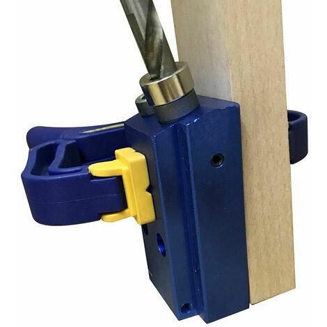 105402 Katsu agujero de ocultacion de la plantilla de perforacion Kit Con el paso broca de la herramienta de carpinteria de la madera