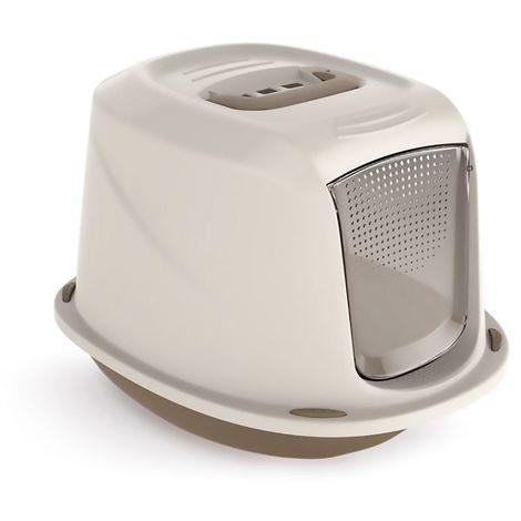 10586 Inodoro WC para gatos mod. GALAXY con puerta frontal 45x36x31,5 cm