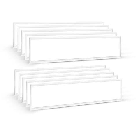 Wei/ß aus Aluminium f/ür Wand- und Deckenmontage Deckenrahmen Montagerahmen Aufbaurahmen Geh/äuse Aufputz ECD Germany LED Panel Rahmen 60x30cm
