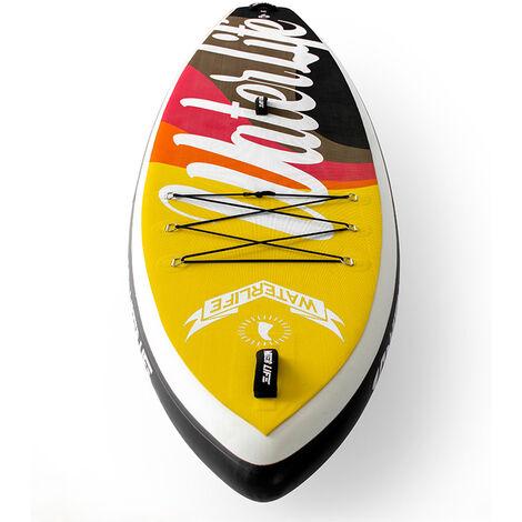 10.6*33*6 pouces Planche de surf 6 pouces 15-18 PSI Charge maximale 105 kg Sports nautiques SUP Board Stand Up Paddle-4