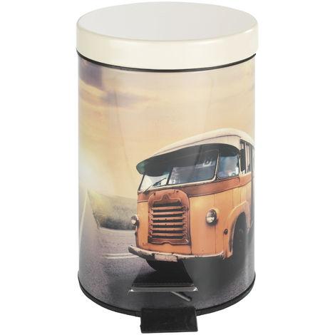 1.07 Treteimer Vintage - Motiv: Bus