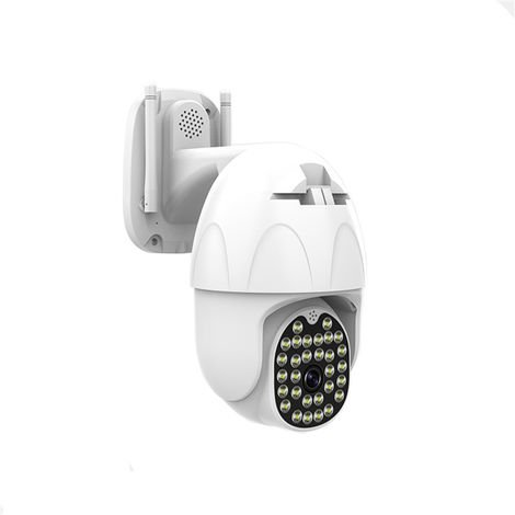 1080p 30LEDs IP Camera Surveillance Camera Dual Antennas 5DB Wireless WIFI Night Vision Waterproof Security -EU Plug