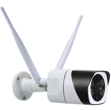 1080P Hd Bullet 2,4 Ghz 5 Ghz Bibande Camera Wifi Exterieure Camera Ip Sans Fil Leds 2.0Mp De Array Ir Support Telephone App Controle De Detection De Mouvement De Vision Nocturne Pour Cctv Accueil Securite Surveillance
