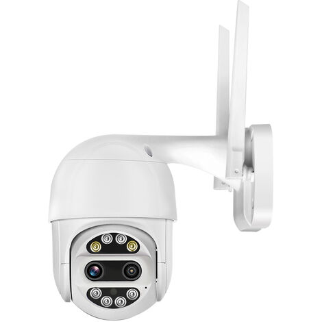 1080P HD PTZ Wireless Home Seguridad, zoom optico de 5x, con vision nocturna