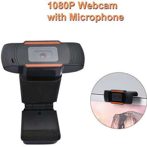 1080P Webcam Avec Microphone Webcam Hd Pour Pc De Bureau Ordinateur Portable Camera En Direct Diffusion