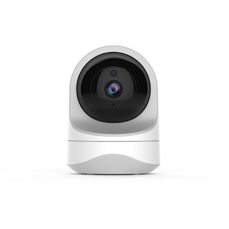 """main image of """"1080P WiFi Security Camera, Wireless WiFi IP Camera Dome Camera with Night Vision, Motion Detection, Two Way Audio, Pan / Tilt For / Animal White"""""""