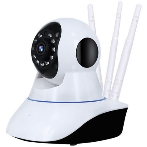 1080P Wifi Wireless Ip Network Cctv Camera Home Security Webcam Baby / Pet Hasaki