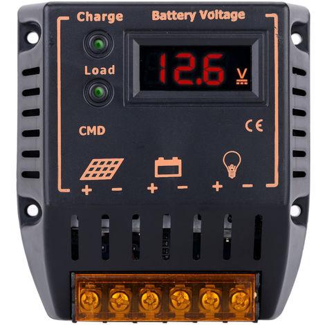 10A 12V / 24V, Regulador autom¨¢tico del controlador de carga solar