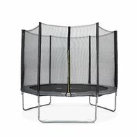 10ft Trampoline with Safety Net - 3 Colours - PRO Quality EU Standards
