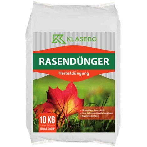 10kg Rasendünger Herbstdüngung KLASEBO 6+5+12 NPK