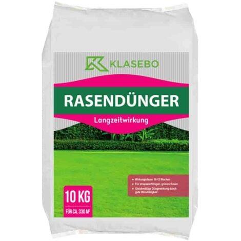 10kg Rasendünger Langzeitwirkung KLASEBO 20+5+8 NPK 330m²
