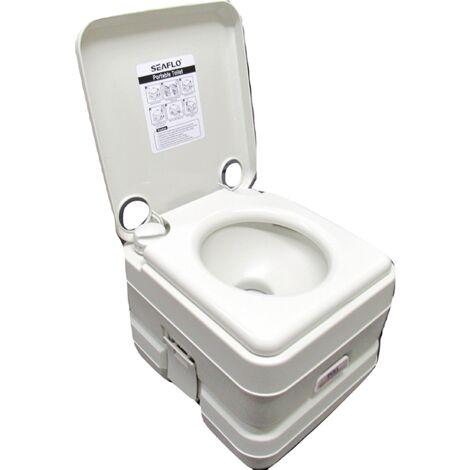 10L Lightweight Portable Toilet - Porta Potty Camping Caravan Motorhome