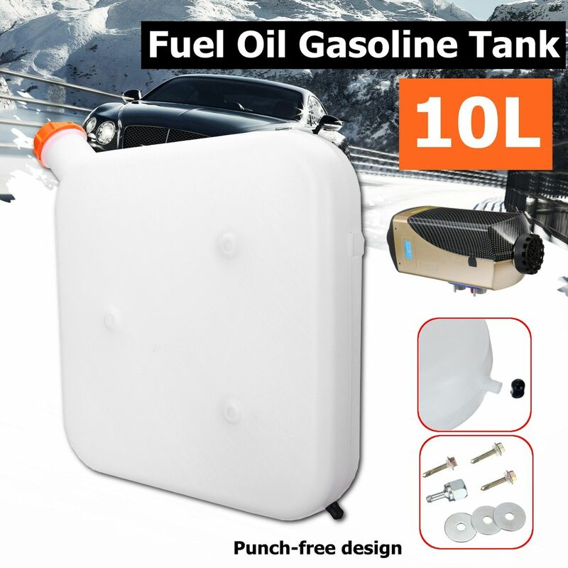 10L Stainless Steel Air Parking Heater Fuel Tank Gasoline Oil Storge For Car Truck Or Parking Air Heater