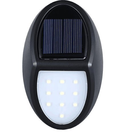 10LED Solar Light Wall Lamp Water-resistant Outdoor Lighting