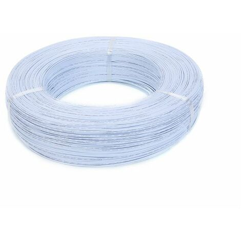 10M 22AWG 1.6mm fil PVC Certification UL électronique cable LED isolé pour bricolage connecter Blanc
