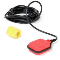 10m 250V 16A Float Switch submersible water pump level controller red