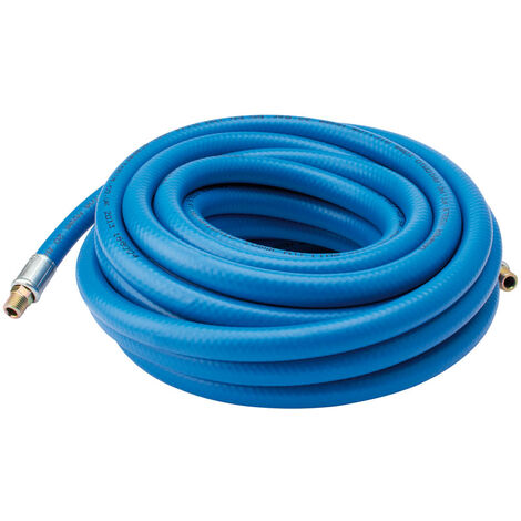"""10M Air Line Hose (3/8""""/10mm Bore) with 1/4"""" BSP Fittings"""