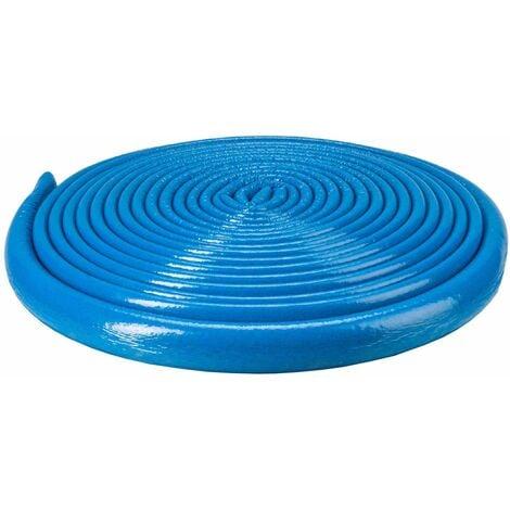 10m Long Bleu 18mm Tuyau Mousse Isolation Enveloppe Retardée 6mm D'épaisseur