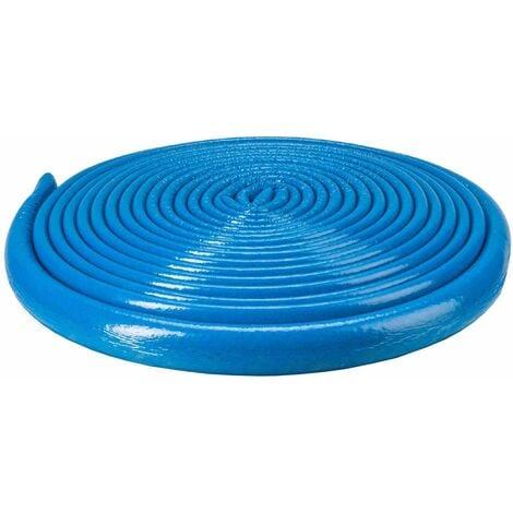 10m Long Bleu 22mm Tuyau Mousse Isolation Enveloppe Retardée 6mm D'épaisseur