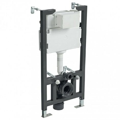 1.0m Wall Hung WC Frame & Concealed Cistern