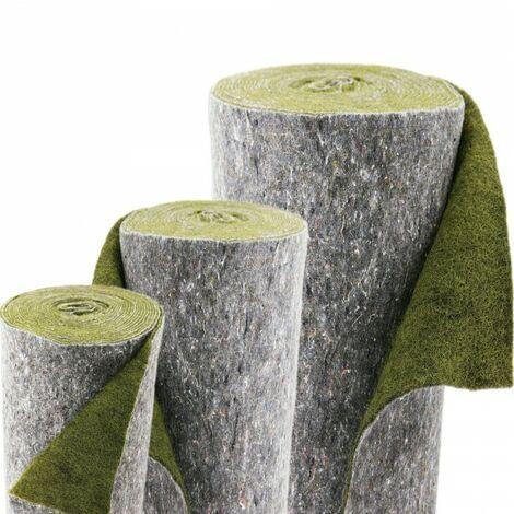 10m x 0,5m Ufermatte grün Böschungsmatte Teichrandmatte für die Teichfolie