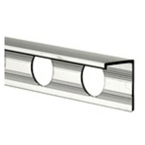 10mm L Shape Economy Tile Trim Silver - Metal