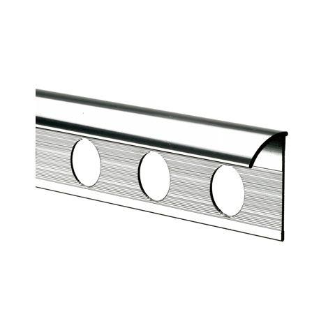 10mm Quadrant Economy Tile Trim Silver - Metal