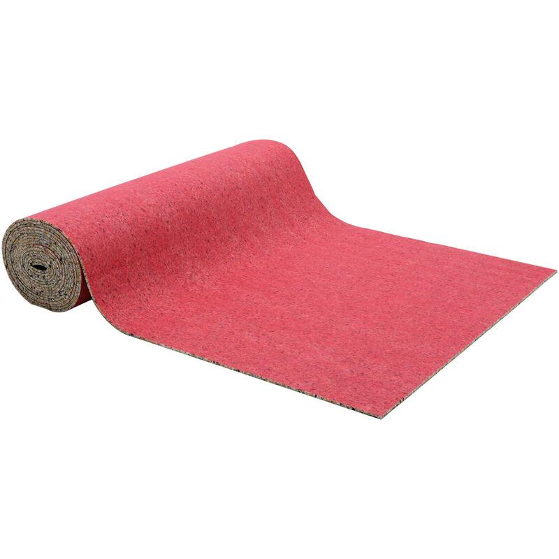 Image of 10mm Thick Foam Carpet Underlay Flooring Roll Sound Noise Proof Mat, 1.37x11M