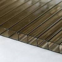 10mm Twinwall Polycarbonate Sheet Bronze 2100mm x 3M