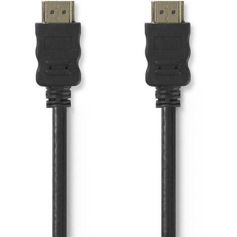 10MT CÂBLE HDMI 10MT HAUTE VITESSE'AVEC ETHERNET COULEUR NOIR CVGT34000BK100