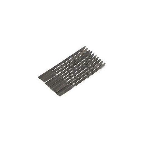 10pc Mini Saw Blades 57 x 2.9mm - Suit CT4843 Mini Hand Scroll Jigsaw