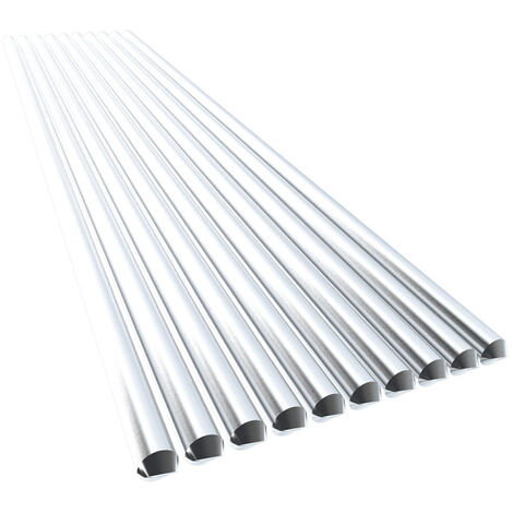 10Pcs Basse Temperature En Aluminium Fil De Soudure 2.4Mm * Flux Cored 230Mm Al-Mg A Souder Rod Pas Besoin De Soudure En Poudre