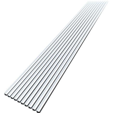 10Pcs Basse Temperature En Aluminium Fil De Soudure 3.2Mm * Flux Cored 450Mm Al-Mg A Souder Rod Pas Besoin De Soudure En Poudre