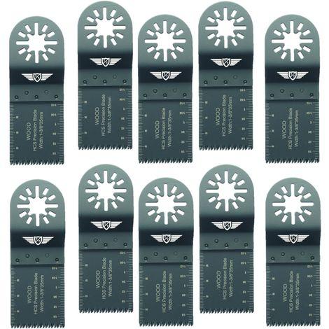 10pcs TopsTools Coarse Cut Multitool Blades - UN35J_10