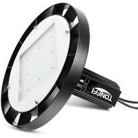 10Pz 100W UFO LED Industrial, 12000Lm Led Alto Bahía Lámpara de Suspensión para Industrial Almacén Comercial (IP65, 6000K)