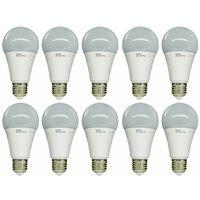 10Pz Lampadina LED Kodak 15W E27 smd bulbo A65 70005 EU-4000 luce naturale