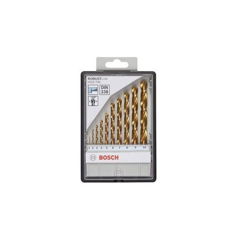 /Ø 3 mm Bosch Metallbohrer HSS-TiN