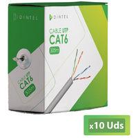 10U Bobinas Cable UTP CAT6 305m Dintel