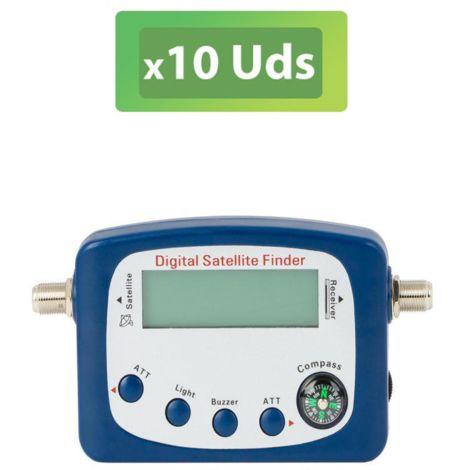 10U Localizador satélite digital con atenuación Dintel