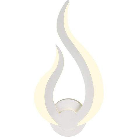 10w Applique Murale Lampe Murale Led Intérieur 3000k Blanc Chaud
