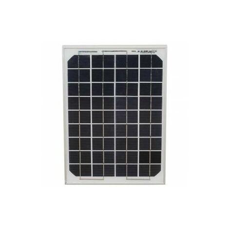 10w Mono-Crystalline Solar Panel 4m cable Photo-voltaic (boat caravan home)