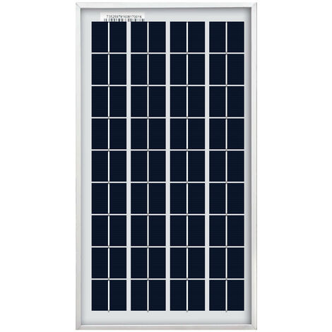10W PV solar panel High efficiency 12V battery charging for Caravan Boat Camping