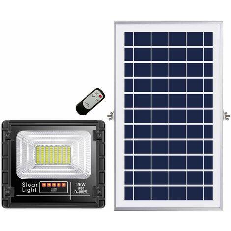 10W,25W,40W,60W,100W,200W extra delgado 10W,25W,40W,60W,100W,200W Foco LED blanco solar con opción de impermeabilización (IP65)