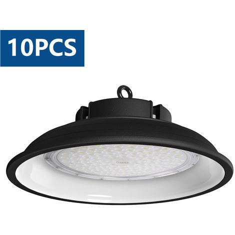 10X 150w Campana LED Industrial, 6000K UFO Led L
